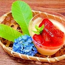 イチゴとルバーブ☆コンフィチュール