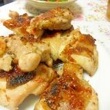 鶏もも肉のグリル 塩にんにく味 魚焼きグリルで簡単
