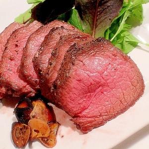 【簡単おもてなし料理】魚焼きグリルでローストビーフ