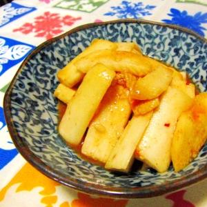 長芋のキムチ醤油麹漬け