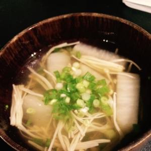 簡単あっさり☆だいこんとえのきのスープ