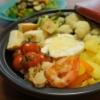 タジン鍋でカマンベールチーズフォンデュ