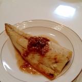 絶品梅ダレで食べる焼きサバ