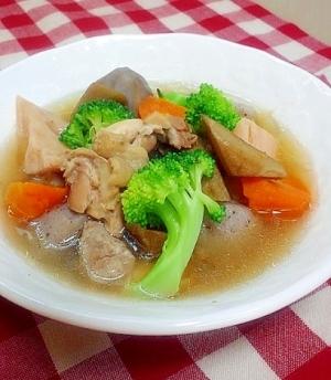 最後の一口まで美味♪根菜たっぷり和風ポトフ@圧力鍋