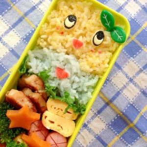 簡単キャラ弁☆ふなっしーのお弁当♪