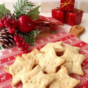 材料2つ♪♪Xmas星型クッキー