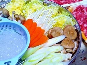 """野菜のお出汁で美味しい""""しゃぶしゃぶ"""""""