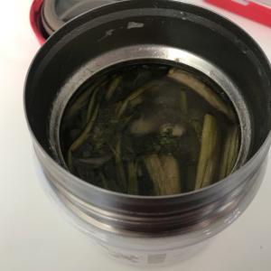 ★スープジャー★鍋の残りでお雑煮