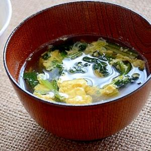 ☆減塩レシピ☆ ほうれん草のすまし汁
