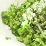 ブロッコリーの豆乳サラダ