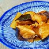 ぶりと大根の炒め煮++