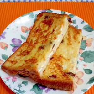 クリームチーズのフレンチトースト♪