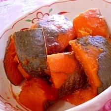 清酒で煮る❤味わい深い南瓜煮❤