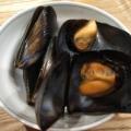 冷凍ムール貝のワイン蒸し