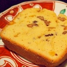 HBで簡単栗のパウンドケーキ☆