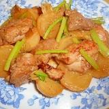 醤油麹漬け鶏もも肉とかぶの炒め煮