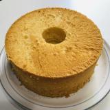 水をアレに変えるだけフワフワ米粉のシフォンケーキ