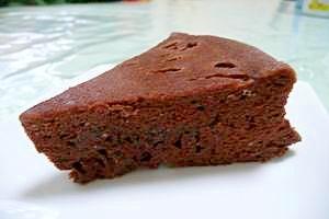 ★レンジで簡単★混ぜるだけチョコケーキ
