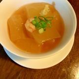 冬瓜と海老の簡単煮