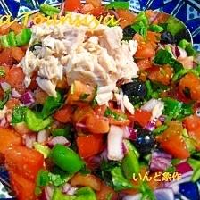 オイルフリーのチュニジアン・サラダ