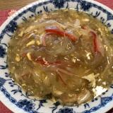 残った中華スープをリメイク!簡単あんかけご飯♪
