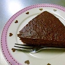 表面カリカリ☆チョコケーキ