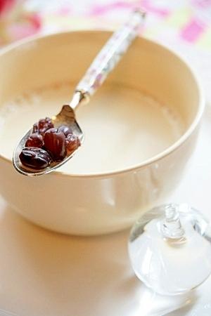 甘納豆きな粉ミルク