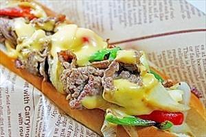 フィリーチーズステーキサンド★簡単でボリューム大!