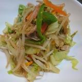 簡単、美味しい!野菜炒め