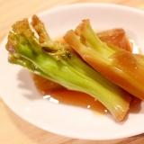 【作り置き・野菜おかず】ブロッコリーの茎の煮浸し