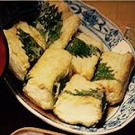 シソ巻きで簡単おもてなし風!揚げ出し豆腐