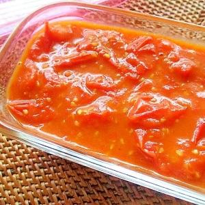 簡単!ミニトマトで自家製トマトソース