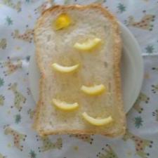 こいのぼり柄の食パン