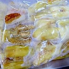なすび消費★焼きナスの冷凍保存