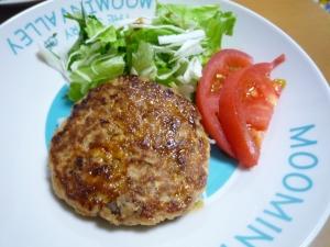 お豆腐ハンバーグ~合い挽き肉使用