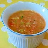 【離乳食】ツナ&ブロッコリーのトマトクリーム煮