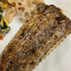 太刀魚のこんがり塩焼き
