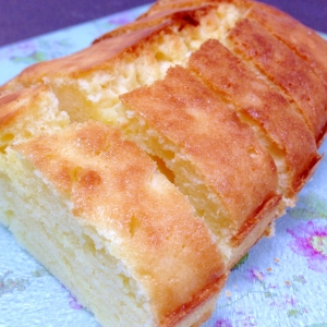 しっとりさわやか☆サワークリームのパウンドケーキ