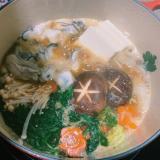 牡蠣鍋☆味噌ベース