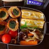 青菜の豚肉巻き