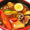 割と本格的な旬の野菜スープカレー