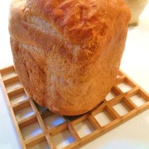 粉200だけ!ふわっふわのHB食パン。