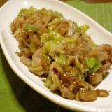 レタスと牛肉の炒め物