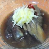 生姜でさっぱり♪茄子の煮浸し