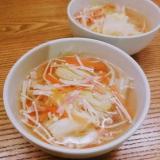 ベーコンと白菜のコンソメスープ