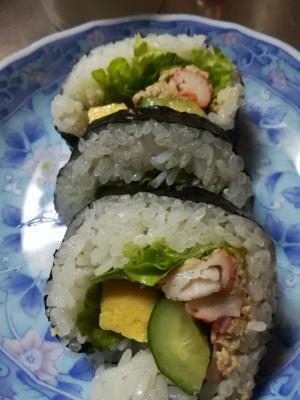 巻き寿司★サラダ巻き