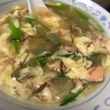 モズク酢で簡単サンラータンスープ