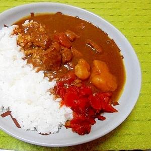 「圧力鍋」でつくるお肉のカレーレシピ