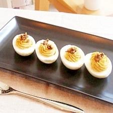 お洒落なオードブル♪卵のファルシー
