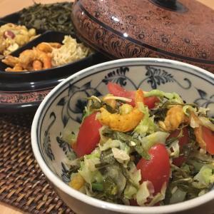ミャンマー ラペットゥ お茶の葉サラダ